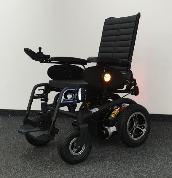 Trendmobil R-30 (6 km/h) schwarz - Elektrorollstuhl neuwertig