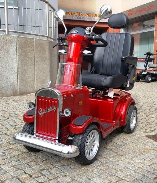 VINTAGE MOBILITY Gatsby (15 km/h) rot - Käuferstorno