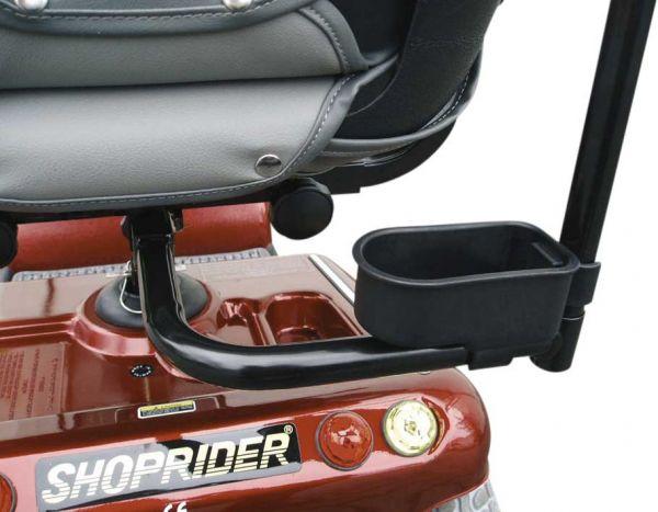 SHOPRIDER Elektromobil-Stockhalter – Montage unterm Sitz