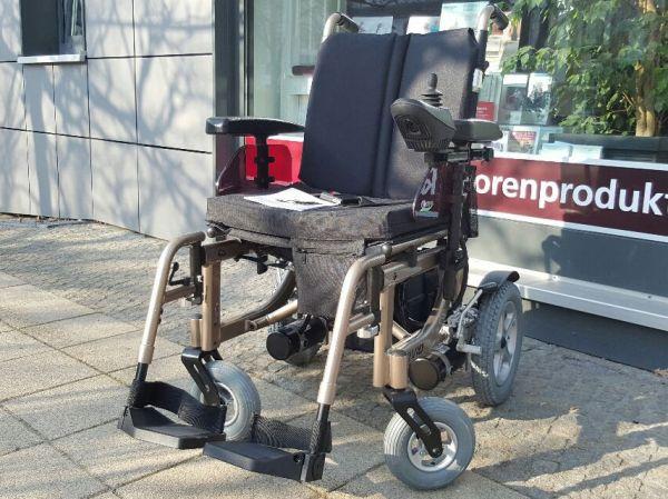 KYMCO McFoldy (6 km/h) Neuwertiger E-Rollstuhl - Bronze