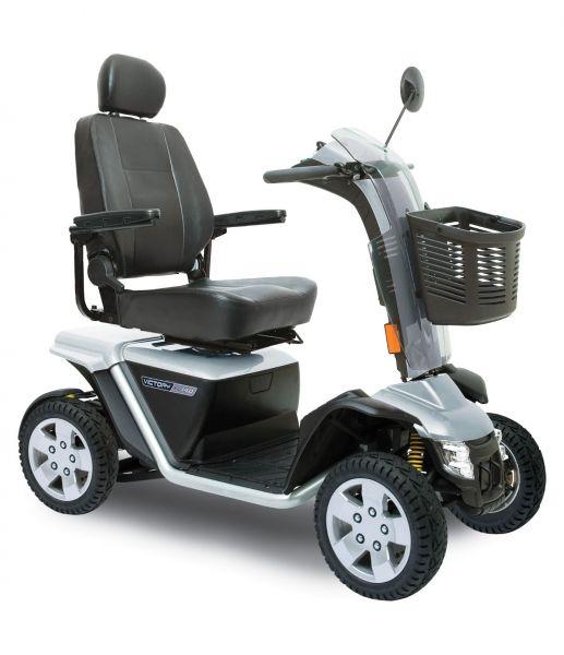 Pride Victory 140 XL (15 km/h) - silbernes Elektromobil