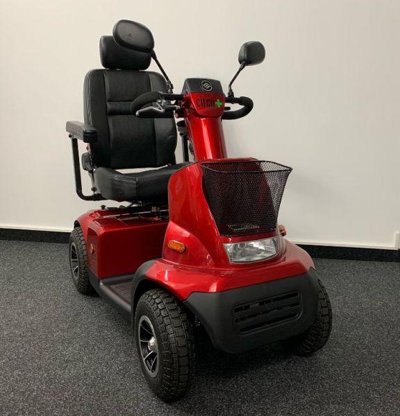 Afikim Circu + C4 (15 km/h) Comfort Edition rot - Vorführ - Elektromobil