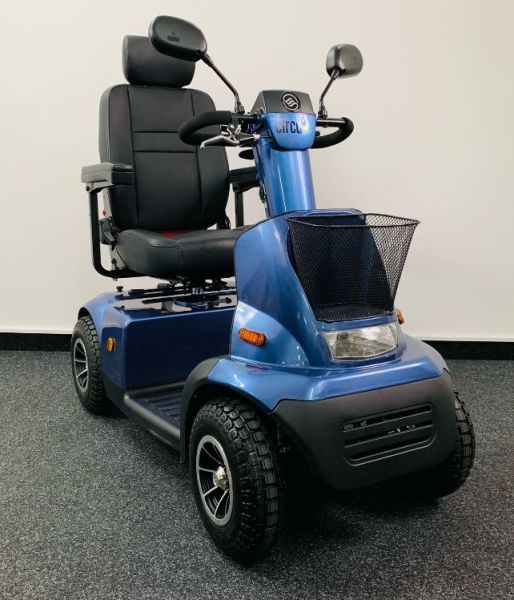 Afikim Circu + C4 (15 km/h) Comfort Edition blau - Vorführ - Elektromobil