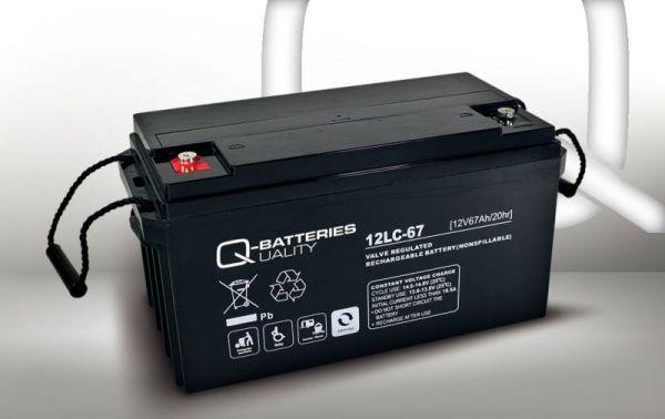 Elektromobil-Batterie – Ersatzakku 12V · 67Ah