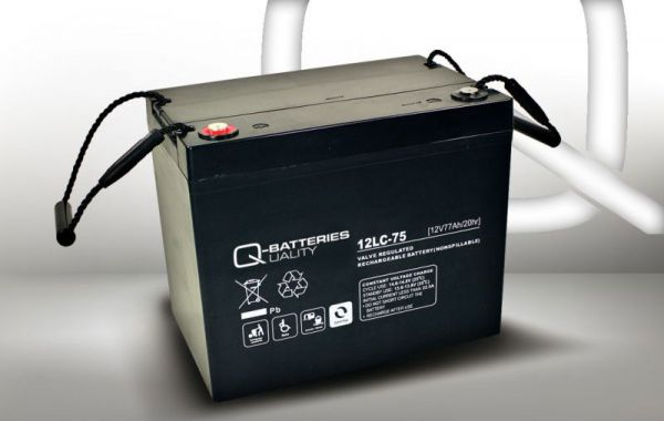 12V · 77Ah Elektromobil-Batterie – Ersatzakku