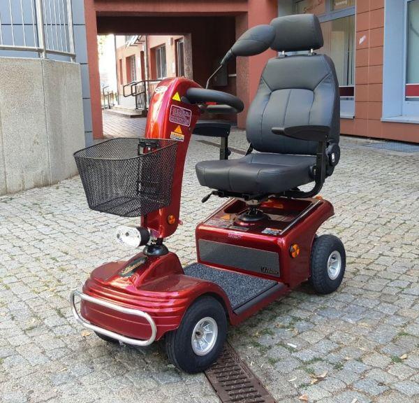 SHOPRIDER TE 888 NRS (6 km/h) rot – Gebrauchtes Elektromobil