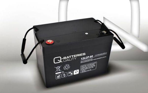 12V · 63Ah Elektromobil-Batterie – Ersatzakku