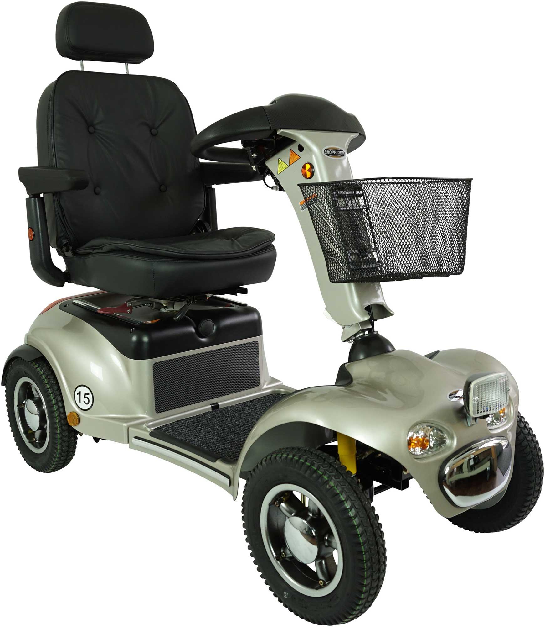 shoprider premium 15 km h elektromobil mc seniorenprodukte. Black Bedroom Furniture Sets. Home Design Ideas