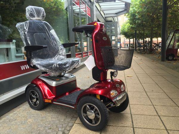 SHOPRIDER Rapid (15 km/h) rot – Neuwertiges Elektromobil