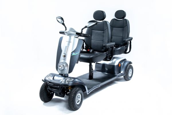 KYMCO Tandem (6 km/h) graphit Zweisitzer-Elektromobil