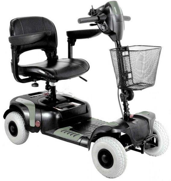 VERMEIREN Venus 4 Sport | Reise- Seniorenscooter (zerlegbar)