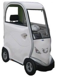 LECSON Kabinenscooter (15 km/h) inkl. Aufbauservice – Elektromobil
