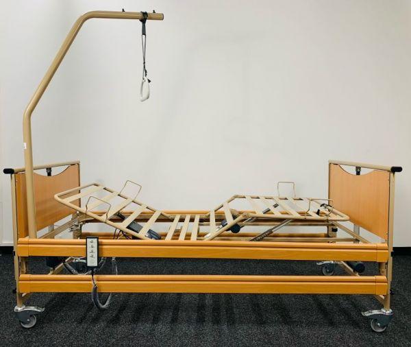 Vermeiren Luna Basic 2 » Einsteiger-Pflegebett inkl. Aufrichter (Bettgalgen)