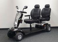 KYMCO Tandem (12 km/h) schwarz Zweisitzer-Elektromobil