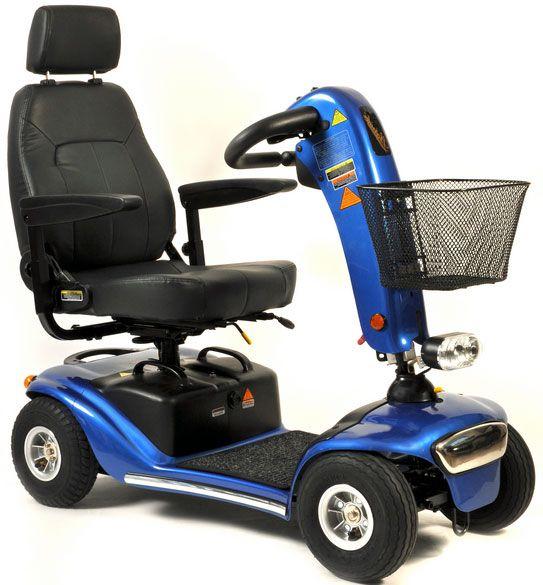 SHOPRIDER City (6 km/h) – blaues Elektromobil