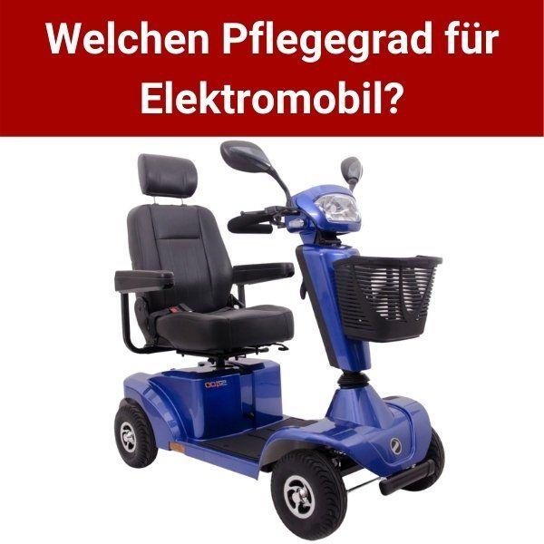 Pflegegrad-Elektromobil