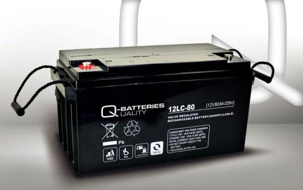 12V · 80Ah Elektromobil-Batterie – Ersatzakku