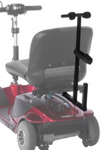 TRENDMOBIL Elektromobil-Rollatorhalter – Montage unterm Sitz