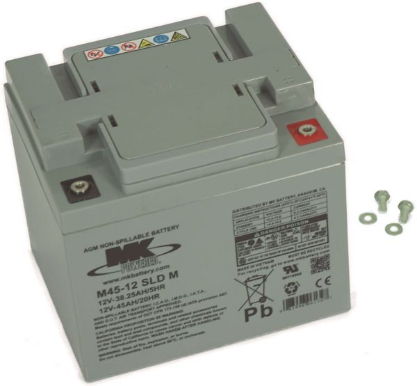 12V · 45Ah Elektromobil-Batterie – Ersatzakku