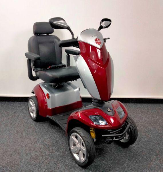KYMCO Agility (15 km/h) rot - Elektromobil gebraucht Top-Zustand