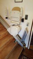 Gerader Innen-Treppenlift (gebraucht) mit elektr. Klappschiene – ACORN Superglide 130