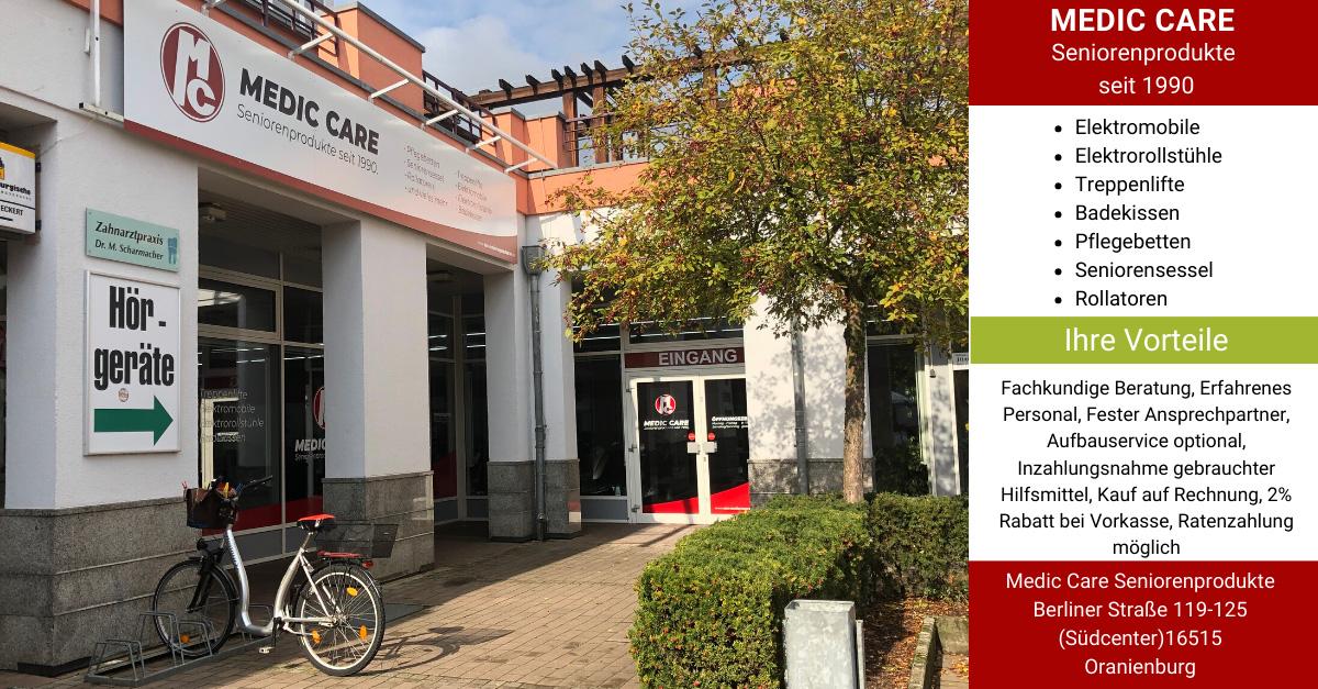 MEDIC CARE Seniorenprodukte Oranienburg