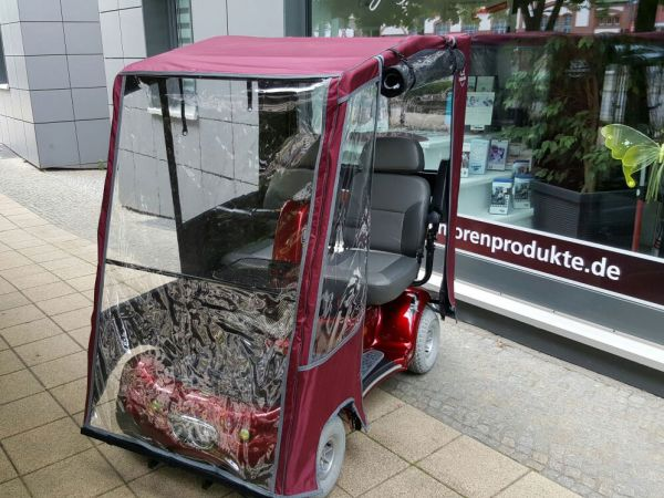 SHOPRIDER TE 889 NR DXD + Wetterdach (6 km/h) inkl. Aufbauservice – Gebrauchter Doppelsitzer