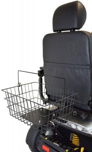 Elektromobil-Heckkorb – Montage unterm Sitz von Trendmobil