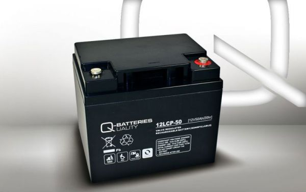 12V · 50Ah Elektromobil-Batterie Ersatzakku
