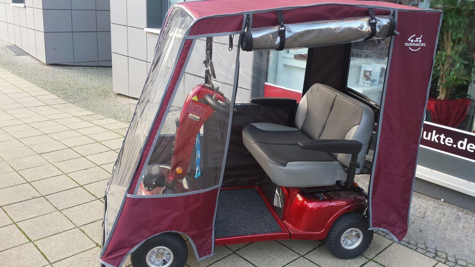 shoprider doppelsitzer elektromobil mit wetterdach. Black Bedroom Furniture Sets. Home Design Ideas