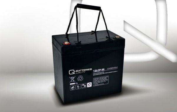 12V · 56Ah Elektromobil-Batterie – Ersatzakku