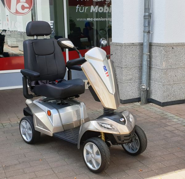 KYMCO Texel E-Mobil US-Sonderedition (15 km/h) Bronze - Beleuchtung nach StVO inkl. Hupe und Blinker