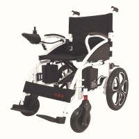 Antar elektrischer Rollstuhl (6 km/h) weiß - faltbar