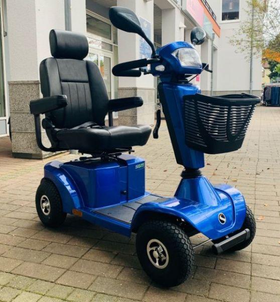 Sterling Cava S425 blau (12 km/h) Elektromobil - Vorführfahrzeug