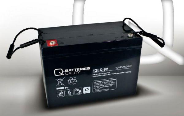 12V · 93Ah Elektromobil-Batterie – Ersatzakku