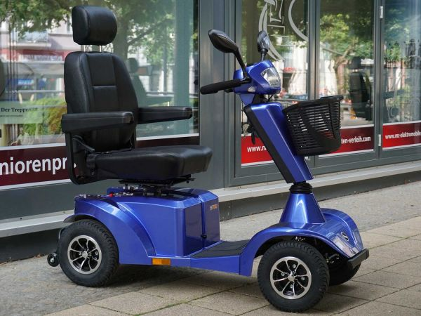 PREMIOMOBIL Saphir (15 km/h) blau - Neuwertiges Vorführ-Elektromobil
