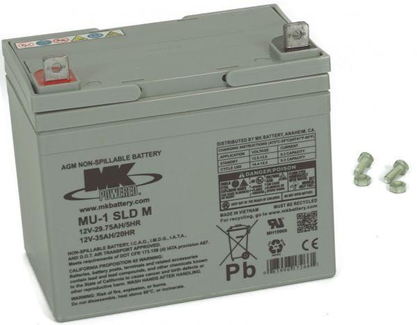 12V · 35Ah Elektromobil-Batterie – Ersatzakku